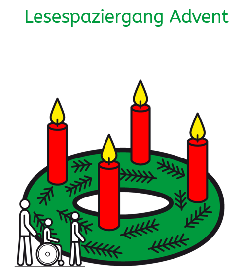 Lesespaziergang-Advent